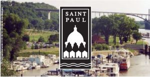 Image of Riverfront with City of Saint Paul logo
