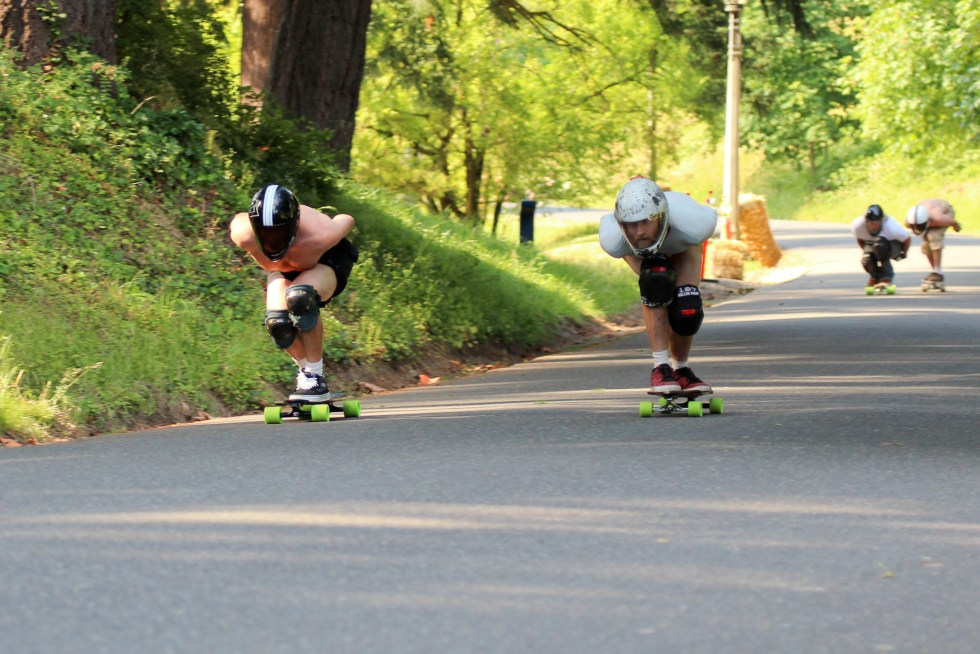 Robin McGuirk on left. Jon Huey on right. Photo by Spencer Morgan during the first event in 2011..