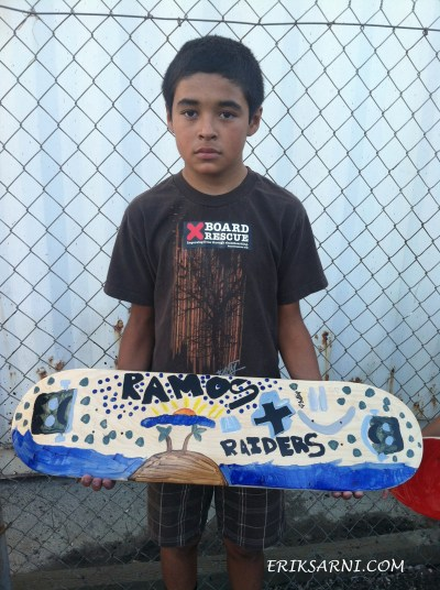 El Sereno Skate Deck workshop & Art show