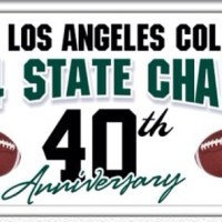 "East L.A College Huskies Football "" 1974 State Champions"" 40th Anniversary """