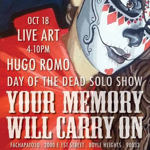 Hugo Romo Your Memory Will Carry On