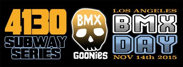BMX Day 4130 Subway Series BMX Goonies