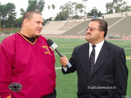 Louie Moreno with Jason Carlin RHS HC