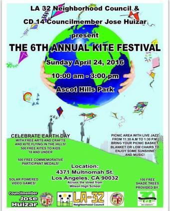 6th Annual Kite Festival Ascot Park El Sereno