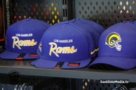 LA Rams Hats - Nike East Los