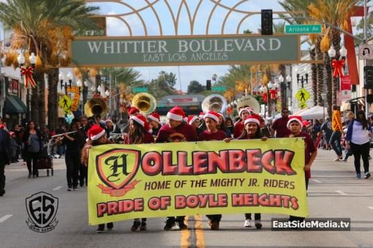 Hollenbeck Middle School East LA Christmas Parade