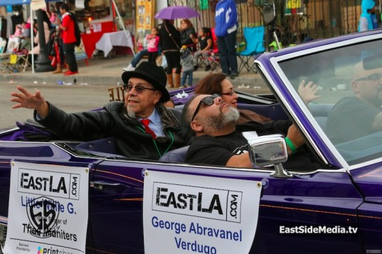 Little Willie G East LA Christmas Parade