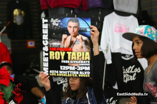 Roy Tapia meet and greet 2016