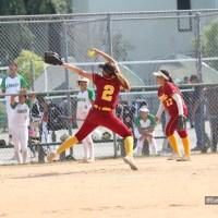 Lady Riders Ground Eagles, Samantha Islas strikes out 16