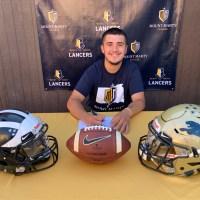 Franklin High School quarterback Alfred Bobadilla commits to Mount Marty University