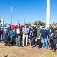 "Veterans Day Ceremony at ""Cinco Puntos"" Mexican-American All Wars Memorial"