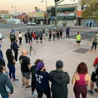 A post-pandemic reunion for Boyle Heights runners group