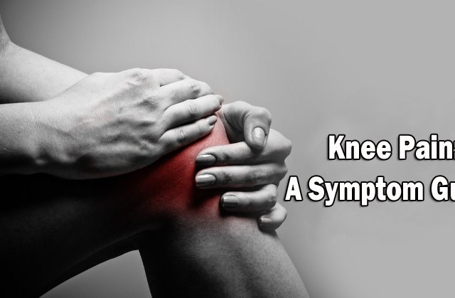 knee pain symptom
