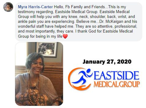 Eastside Medical Group Cleveland testimonial