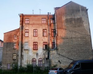 Riga Reise Nachts Skontohalle Lost Place