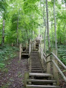 Gauja Nationalpark Treppen