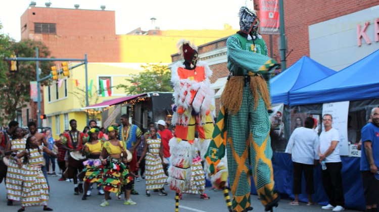 The Umoja Festival partnered with ETSU this year, resulting in their biggest turnout in a 20-year history. (Photograph by Heath Owens/East Tennessean)
