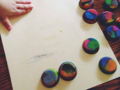 Toddler Friendly Crayons
