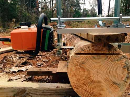 Granberg Alaskan Chainsaw Mill - East Texas Homestead