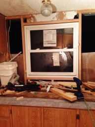 Window - Mobile home Renovation