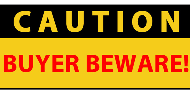 Image result for buyer beware