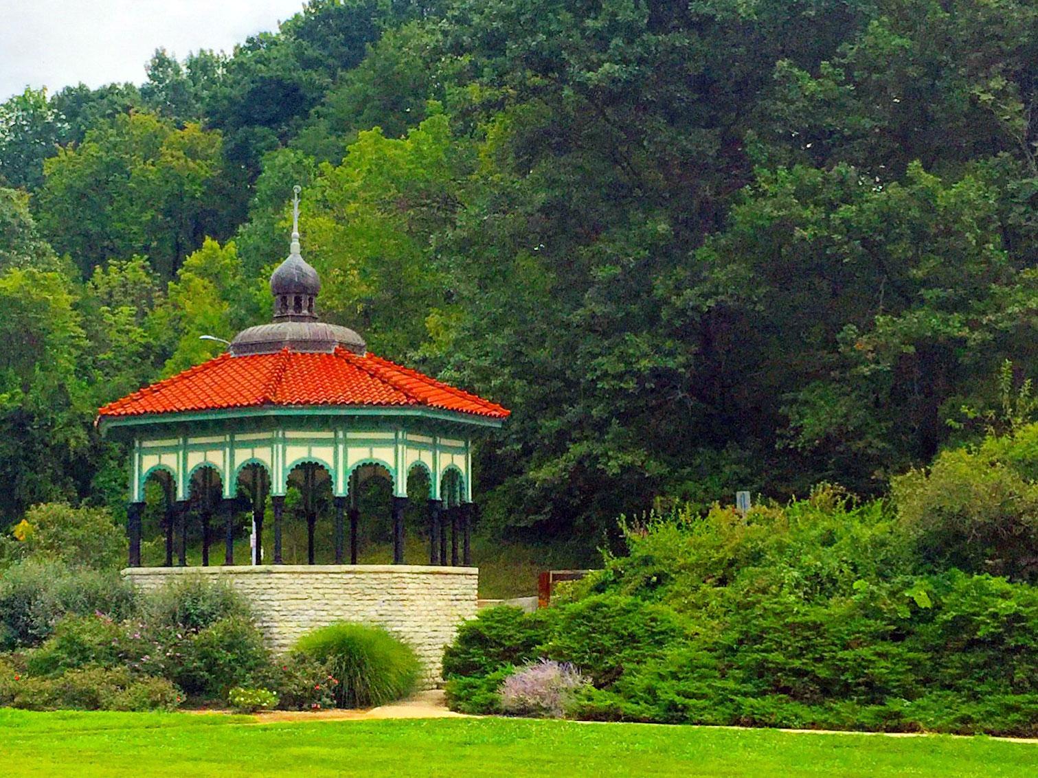 Victorian gazebo in Eden Park, Cincinnati