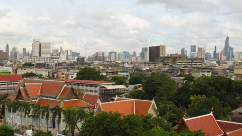 Wat Saket - Gold mount - Bangkok