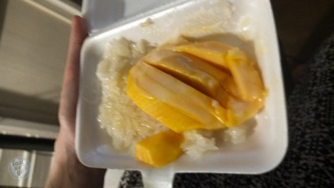 Sticky rice with mango - Chao Phraya Express - Bangkok