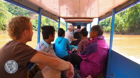 Boat Muang Khua to Muang Ngoi-2