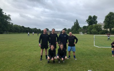 EWC win RHFSSC 5-a-side tournament.