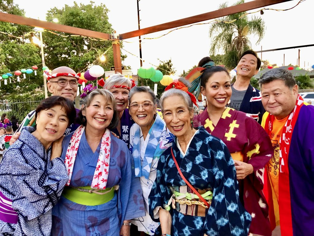 25 FandangObon band, singers, and guests - Yoko Fujimoto, George Abe, Atomic Nancy, Kate Migneaux, PJ Hirabayashi, NM, Carla Vega, Franco Imperial, Johnny Mori
