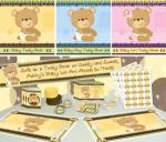 Teddy Bear baby shower themes