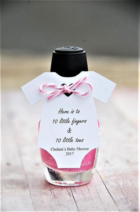 Do It Yourself Baby Shower Favors Diy Baby Shower Favor