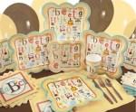 Alphabet Baby Shower Ideas