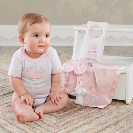 princess infant gift set