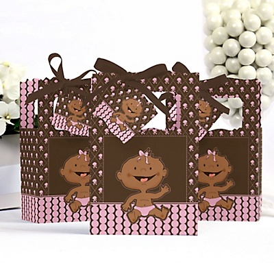 AA Girl baby shower favor box