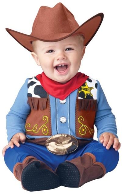 Infant Little cowboy costume