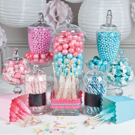 Reveal baby party candy bar