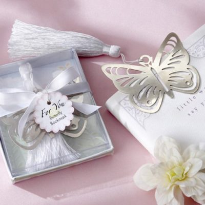 butterfly bookmarks giveaways