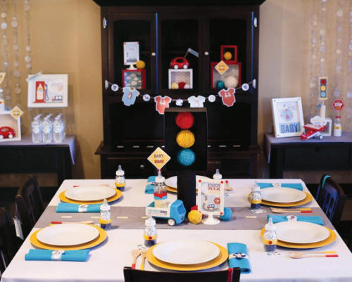 Transportation Baby Shower