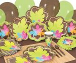 Luau Tropical baby shower supplies