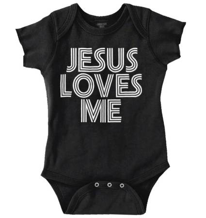 Baby girl dedication baptism christening ideas for girls jesus loves me infant onesie negle Images