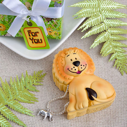 Lion baby shower trinket box gift