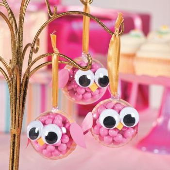 Do it yourself owl baby shower favors