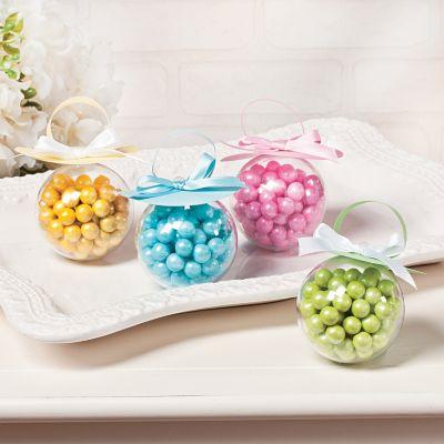 DIY baby shower pacifier treat holders