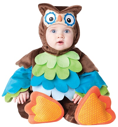 infant hoot owl halloween costume