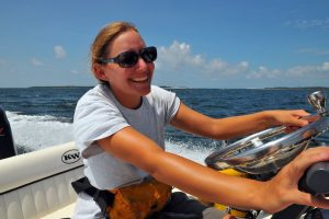Women take over the water … Easy with Captain Bob