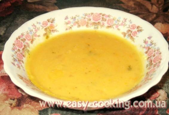Простой рецепт вкусного супа из гороха