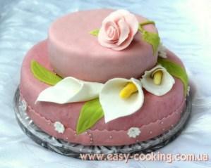 Шоколадний торт з вишнями