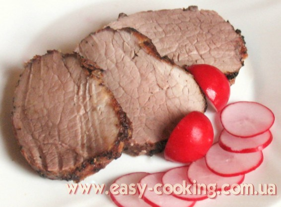 запечена свинина гриль